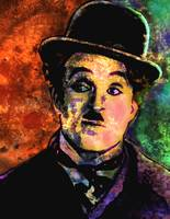 CHARLIE CHAPLIN-CIRCUS (ABSTRACT)