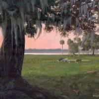 Orange Lake Evinston 16x20 Art Prints & Posters by Robert Wince