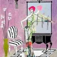Erté-esque -- Art Deco Art Prints & Posters by Jayne Somogy