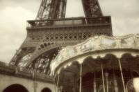 Eiffel Tower with Carousel Paris