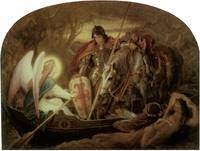 How an Angel Rowed Sir Galahad Across Dern Mere