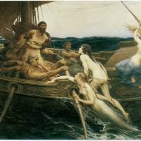 """""""Ulysses and the Sirens (1909)"""" by ArtLoversOnline"""