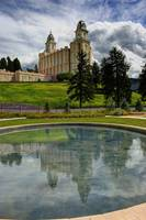 Reflections of Manti Temple