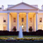 Washington DC, White House at twilight Prints & Posters