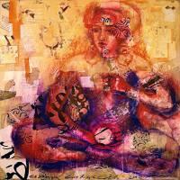 Goddess Meditation Art Prints & Posters by cosima lukashevich