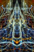 ABSTRACT LIGHT STREAKS #167 - PYRAMID and the ALL-