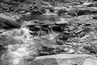 Conklin Gully II in B&W