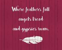 WHERE FEATHERS FALL