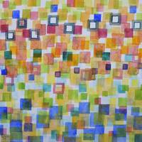 Light Squares and Frames Pattern