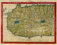 Vintage Map of West Africa (1561)