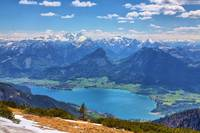 Lake Wolfgangsee and the Majestic Alps