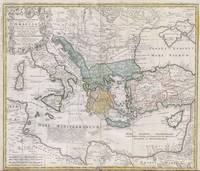 Vintage Map of Greece (1741)