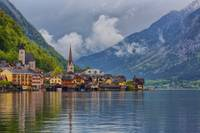 Hallstatt viewed from the Ferry