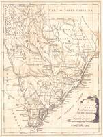 Vintage Map of South Carolina (1779)