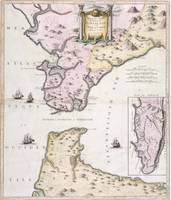 Vintage Map of The Strait of Gibraltar (1780)