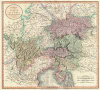 Vintage Map of Austria (1801)