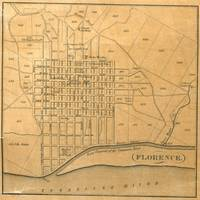 Vintage Map of Florence Alabama (1840)