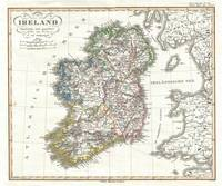 Vintage Map of Ireland (1841)