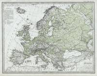 Vintage Map of Europe (1862)