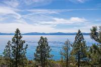 Lake Tahoe Through The Pines