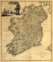 Vintage Map of Ireland (1797)