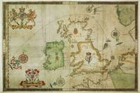 Vintage Map of The British Isles (1590)