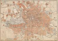 Vintage Map of Berlin Germany (1877)