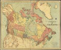 Vintage Map of Canada (1898)