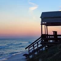 Ocean Sunset 2016 by Karen Adams