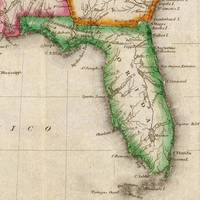 Vintage Map of Florida (1822)