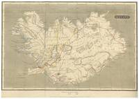 Vintage Map of Iceland (1819)