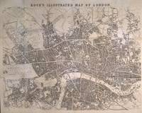 Vintage Map of London England (1845)
