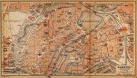 Vintage Map of Hamburg Germany (1910)