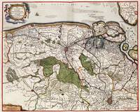 Vintage Map of Flanders Belgium (17th Century)