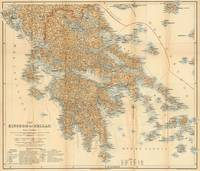This is a vintage map of Greece produced in 1894.