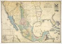 Vintage Map of Mexico (1847)