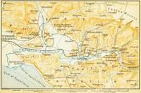Vintage Map of Olympia Greece (1894)