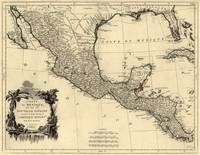 Vintage Map of Mexico (1779)