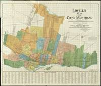 Vintage Map of Montreal (1920)