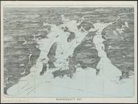 Vintage Pictorial Map of Narragansett Bay (1907)