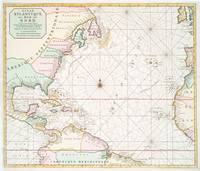 Vintage Atlantic Ocean & North America Map (1700s)