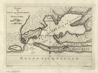 Vintage Map of Pensacola Florida (1763)