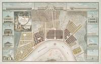 Vintage Map of New Orleans Louisiana (1817)