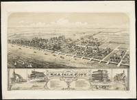 Vintage Pictorial Map of Sea Isle City NJ (1885)