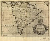 Vintage Map of South America (1700)