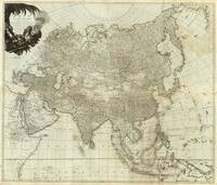 Vintage Map of Asia (1757)