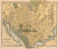 Vintage Map of Washington D.C. (1893)
