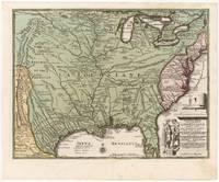 Vintage Map of America (1719)