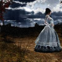 Gallows Hill Art Prints & Posters by Aidana WillowRaven