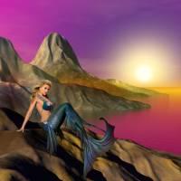 The Mermaid Art Prints & Posters by Anne Vis